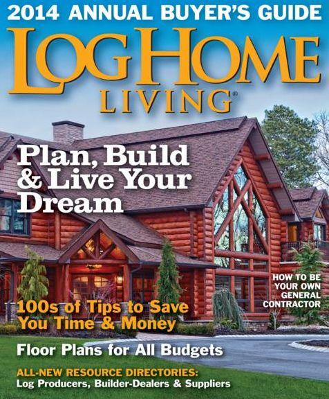 Log home living magazine subscriptions renewals gifts for Log homes magazine