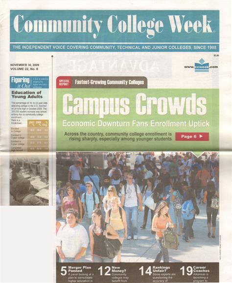 Community College Week Magazine