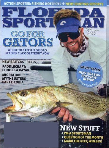 Florida sportsman magazine subscriptions renewals gifts for Florida sport fishing magazine