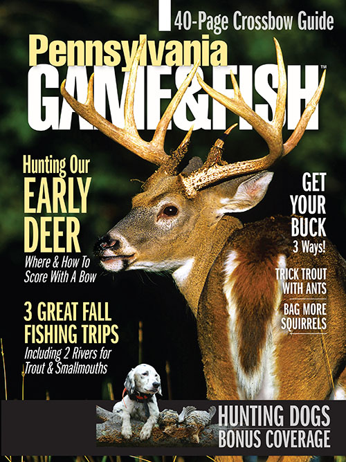 Pennsylvania game fish magazine subscription discounts for Pa game and fish