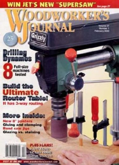 ... Arts & Crafts Magazines » Woodworker's Journal Magazine Subscription