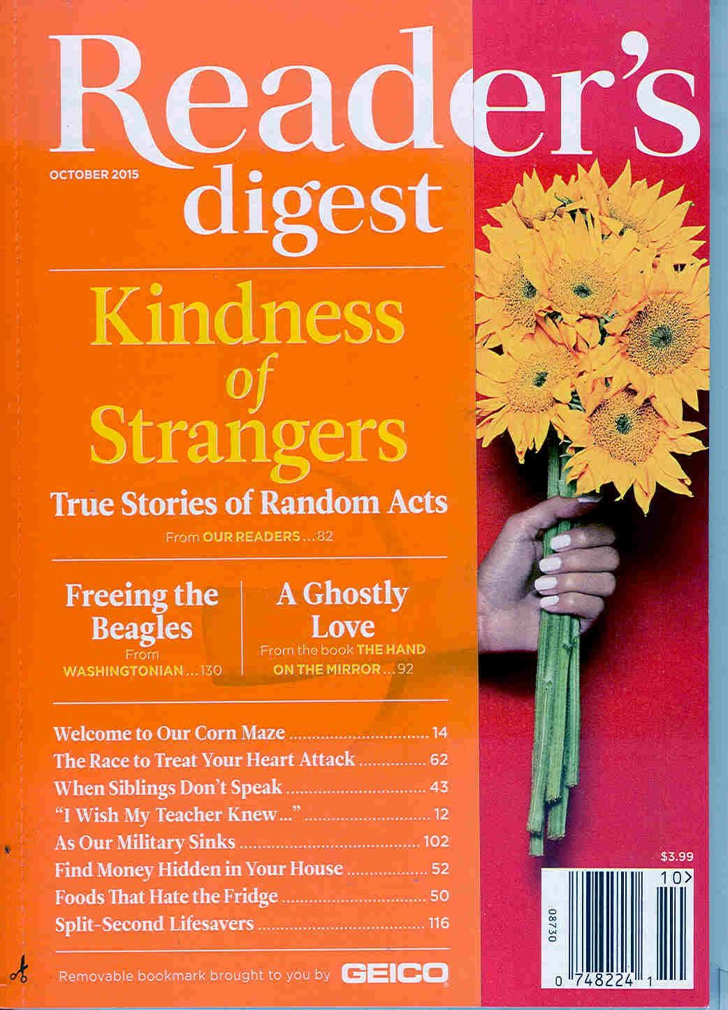 Reader 39 S Digest Magazine Cover