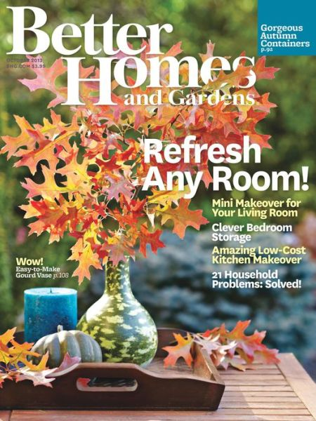Better Homes And Gardens Magazine Digital Subscription