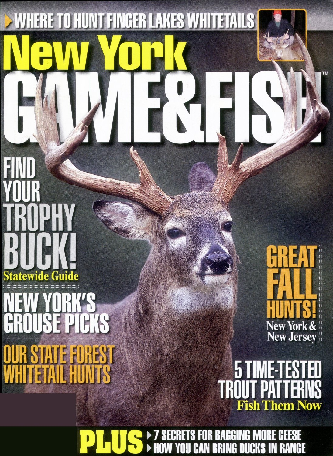 New york game fish magazine subscription discounts deals for Game and fish magazine