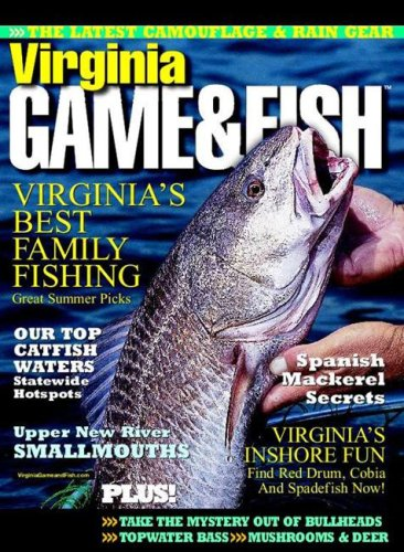 Virginia game fish magazine subscription discounts deals for Va game and fish