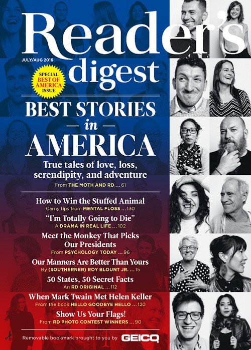 Reader's Digest Subscription: A subscription to Reader's Digest Magazine makes a great gift not just for those who love to read, but also for those who like to keep pace with America's ever-changing culture. On our website, you can either order a new subscription for yourself or as a gift, or you can easily renew a subscription to Reader.