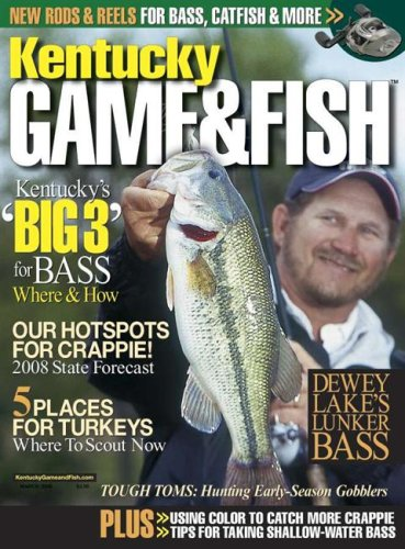 Kentucky game fish magazine subscription discounts deals for Game and fish magazine