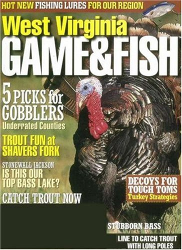 West virginia game fish magazine subscription for Virginia game and fish