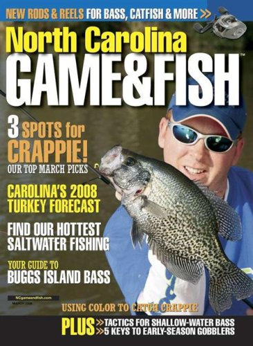 north carolina game fish magazine subscription