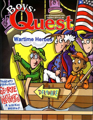 Best Price for Boys' Quest Magazine Subscription