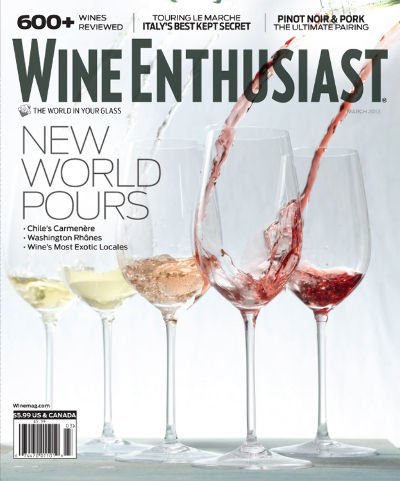 Subscribe to Wine Enthusiast