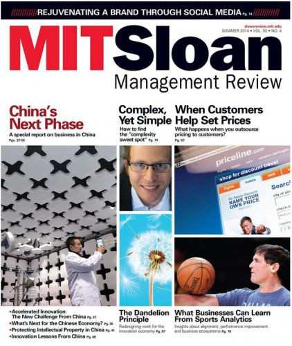 Best Price for MIT Sloan Management Review Magazine Subscription