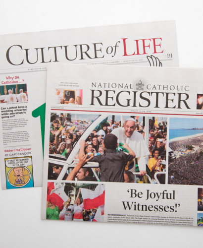 Best Price for National Catholic Register Newspaper Subscription