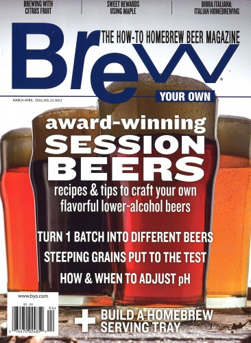 Subscribe to Brew Your Own