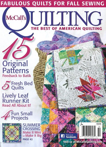 Subscribe to McCall's Quilting