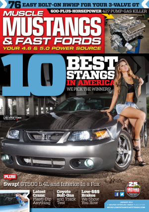 Subscribe to Muscle Mustangs & Fast Fords