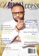 Unique Access Magazine Cover