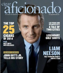 Cigar Aficionado Magazine Cover