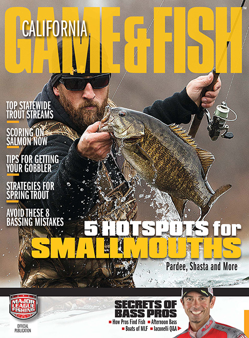 California game fish magazine subscription discounts for Game and fish magazine