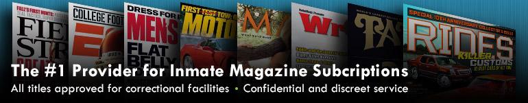 inmate magazine service