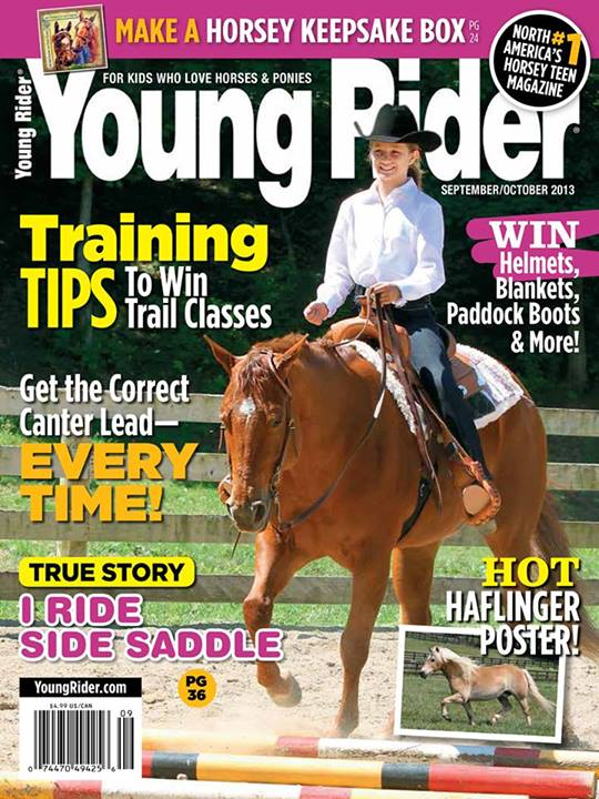 Young rider magazine subscriptions renewals gifts for English home magazine customer service