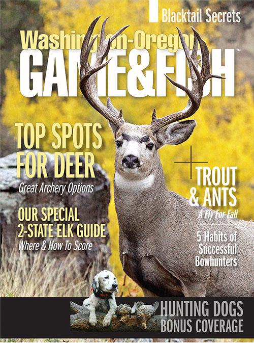 Washington oregon game fish magazine subscription for Oregon fish and game