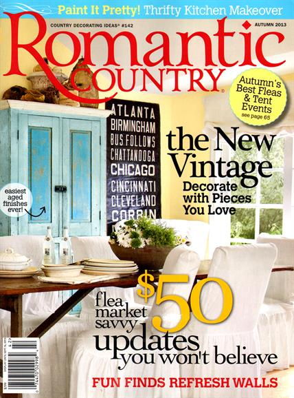romantic country magazine subscriptions renewals gifts