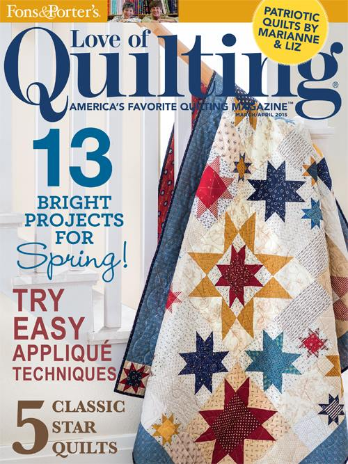 Fons & Porter's Love of Quilting Cover