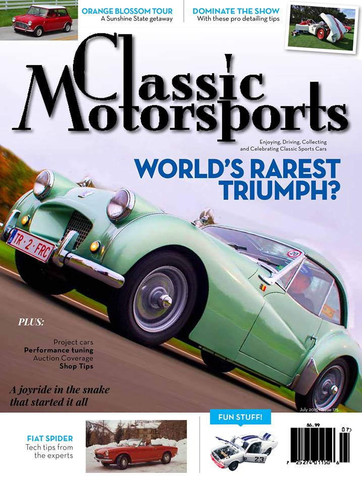 Classic Motorsports Magazine Subscription | Magazine Discount Center