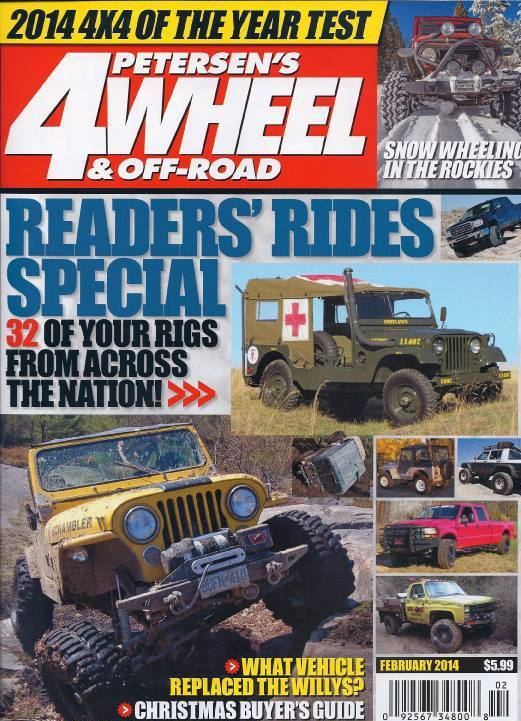 4 wheel off road magazine subscriptions renewals gifts. Black Bedroom Furniture Sets. Home Design Ideas