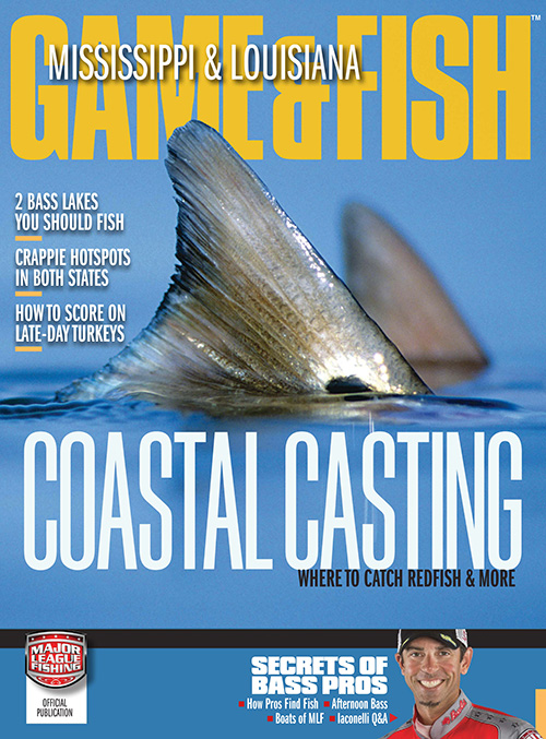 Mississippi louisiana game fish magazine subscription for Mississippi fish and game