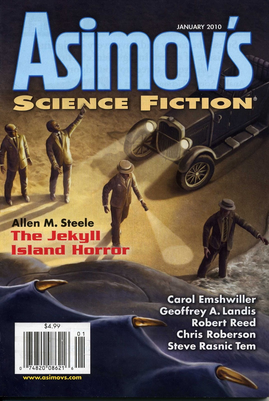 Science fiction writers magazine