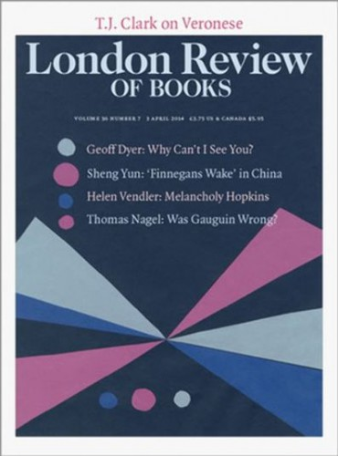 London Review of Books Subscriptions