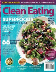 Clean Eating Magazine Cover