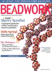 Beadwork Magazine Cover