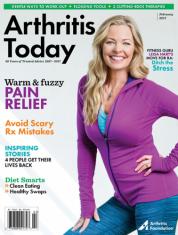 Arthritis Today Magazine Cover