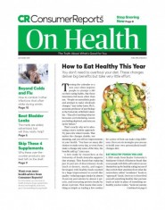 Consumer Reports On Health Magazine